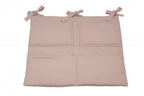 Pünktchen Utensilientasche 55 x 65 cm rosa