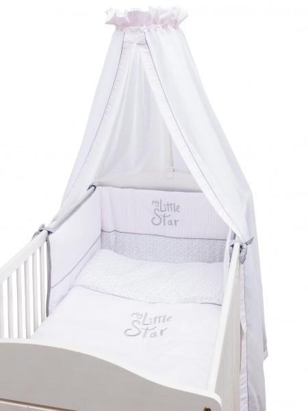 My little Star rosa Bett Set - 3 tlg. im Karton