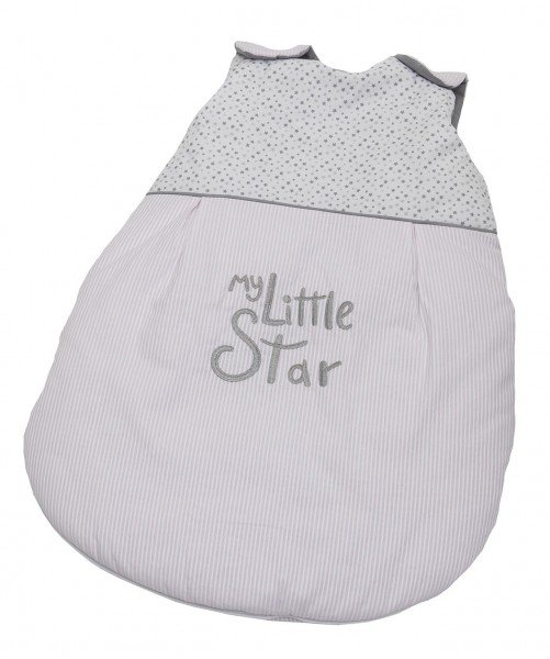 My little Star rosa Winter -Schlafsack 70 cm, wattiert