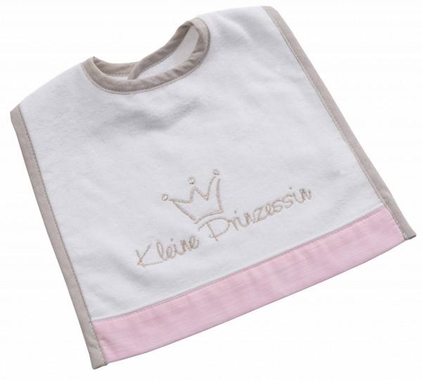 Kleine Prinzessin Lätzchen 30x40 mit Klett