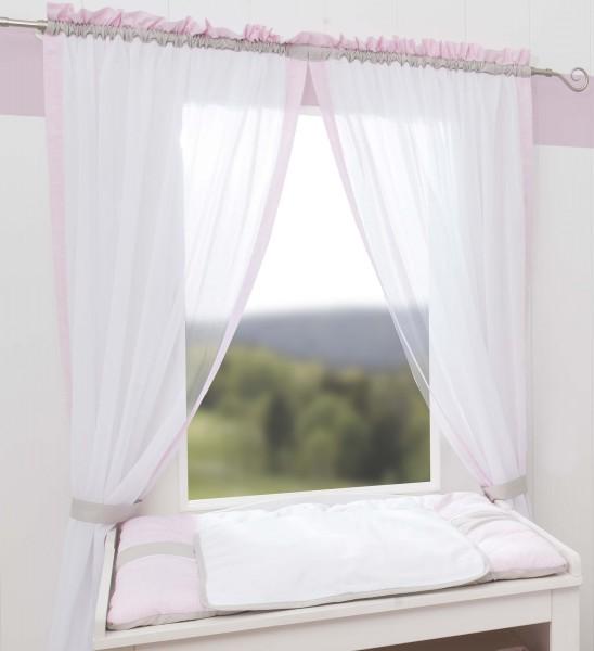 Kleine Prinzessin Vorhang, 2 Schlaufenschals je 100x240