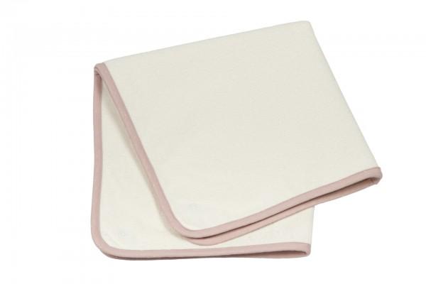 Pünktchen Ersatz-Frotteeauflage groß rosa