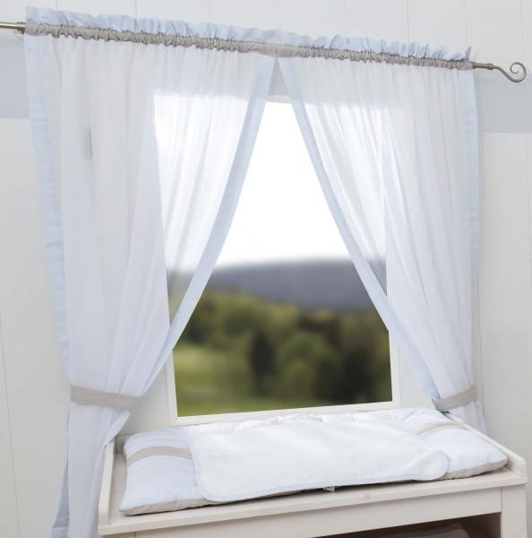 Kleiner Prinz Vorhang, 2 Schlaufenschals je 100x150